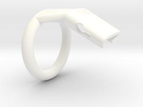 Q4-T125-12 in White Processed Versatile Plastic