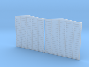 WP Boxcar End O Scale in Smooth Fine Detail Plastic