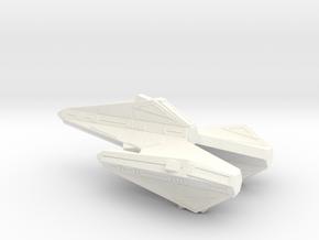 Tholian K3 Battleship in White Strong & Flexible Polished