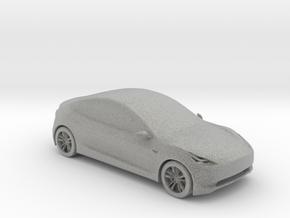 Tesla Model 3 in Metallic Plastic