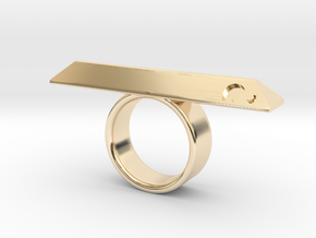 BOHOCK RING Eclectiqueatelier in 14K Yellow Gold