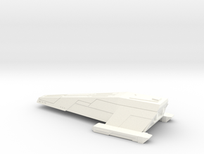 Ghorn Md-8 Cruiser in White Processed Versatile Plastic