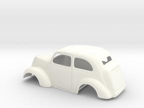 1/25 1949 Anglia Full Body Slammer in White Processed Versatile Plastic