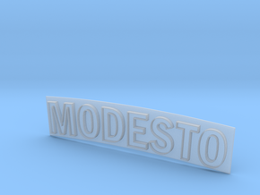 MODESTO ARCH SIGN 1:48 in Smooth Fine Detail Plastic