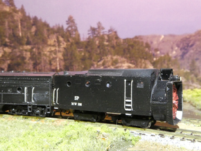 SP Rotary Snow Plow in N Scale in Frosted Ultra Detail