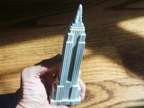 Empire State Building Miniature Replica- New York  in Full Color Sandstone