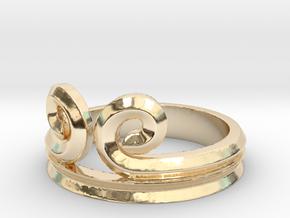 "Sun Wukong ""Monkey King"" Ring (Multiple Sizes) in 14K Yellow Gold"