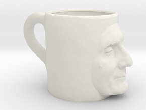 The Ugly Mug in White Natural Versatile Plastic