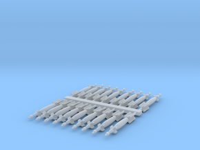 1:350 Scale GBU-12 Paveway II (18x) in Smooth Fine Detail Plastic