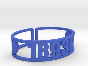 Nock A Mixon Zip Cuff in Blue Processed Versatile Plastic