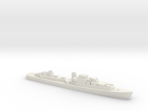Le Corse-class Frigate, 1/2400 in White Natural Versatile Plastic