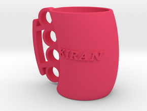 Cofee Mug Kiran1 in Pink Strong & Flexible Polished