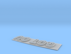 """GOT OU"" Modesto Arch Alternative Slogan 1:48 in Frosted Ultra Detail"