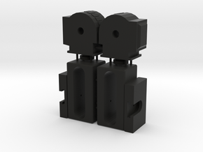 Generations Metroplex Non slip knee joints in Black Natural Versatile Plastic