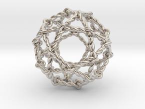 Twisted Penta Sphere in Platinum