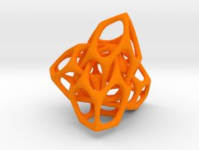 Entrelace1 in Orange Strong & Flexible Polished