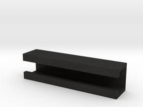 Grid Box Lid in Black Acrylic