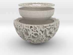 Guardians of the Galaxy Plant Pot in Natural Sandstone