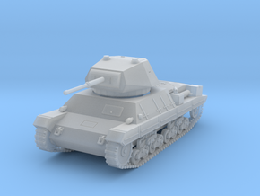 PV60G Italian P40 Heavy Tank (1/87) in Smooth Fine Detail Plastic