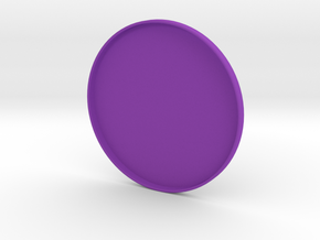 Mini Frisbee in Purple Strong & Flexible Polished