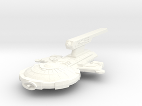 Ghorn Modular Destroyer in White Processed Versatile Plastic