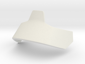 Angkle Guard Left in White Natural Versatile Plastic