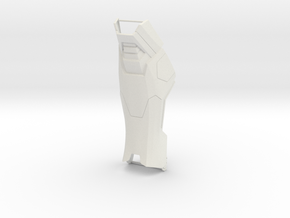 Calf Front With Support in White Natural Versatile Plastic