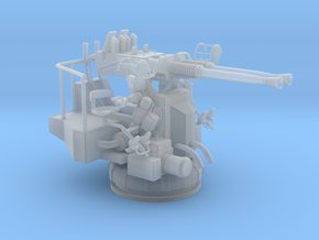 1/72 USN 40mm Bofors Twin Mount in Smooth Fine Detail Plastic