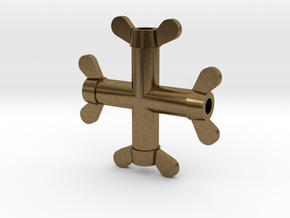 2 56 Wing Nut in Natural Bronze
