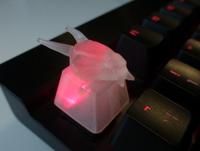 Dragon Topre Keycap in Frosted Ultra Detail