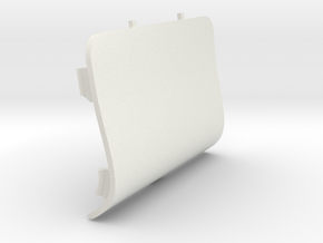 Front-Left Saab Jack Point Cover in White Strong & Flexible