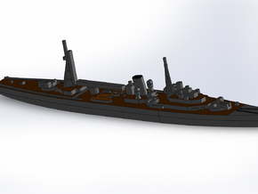 IJN Minelayer Tsugaru 1941 1/1800 in Smooth Fine Detail Plastic