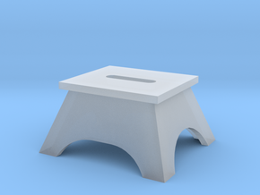 Passenger Stepping Box HO in Smoothest Fine Detail Plastic