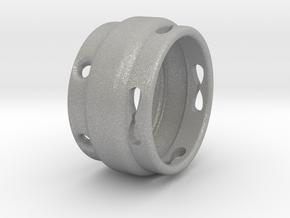 Infinity Ring in Aluminum
