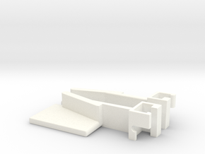 IIgs Latch - Pair in White Processed Versatile Plastic