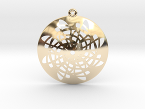 Loops Flower in 14K Yellow Gold