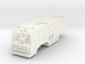 1/87 tender trailer for Super Pumper System (updat in White Processed Versatile Plastic