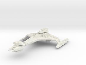 """Vor'cha Class Refit  BattleCruiser  4.1"""" in White Strong & Flexible"""