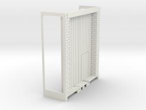 Z-76-lr-stone-warehouse-base-track-door-1 in White Natural Versatile Plastic