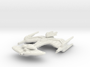 Neghvar Class VII  BattleShip in White Strong & Flexible