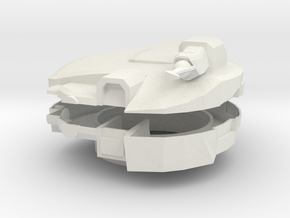 Cabal Goliath Turret (Large) in White Natural Versatile Plastic