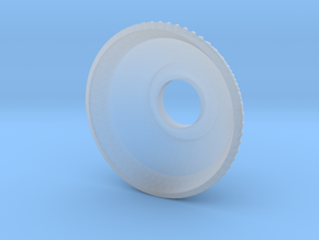 Trunnion Cap in Smooth Fine Detail Plastic