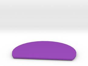 KJAX Class C Airspace in Purple Processed Versatile Plastic
