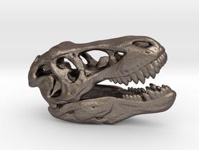 Tyrannosaurus Rex Skull 35mm in Stainless Steel
