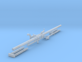 Davis Recoilless Aircraft Rifle (1:32) in Smoothest Fine Detail Plastic