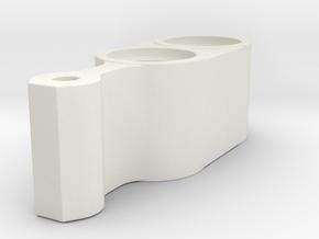 Shift Lever in White Natural Versatile Plastic