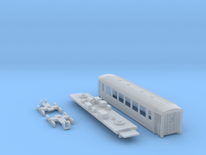 Passenger car type B-1S w/bogie in Frosted Ultra Detail