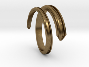 Ring 5 in Natural Bronze