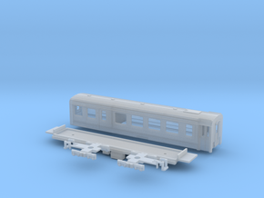 Passenger car type BD-2S in Smooth Fine Detail Plastic