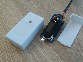 Arduino Pro Mini Housing in White Natural Versatile Plastic